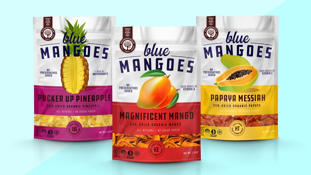 Blue Mangoes - World's Most Natural, Empowering Dried Fruits project video thumbnail