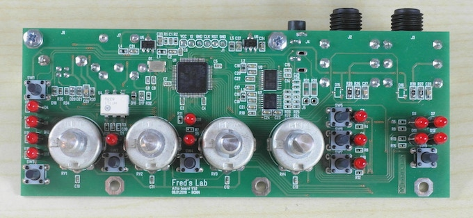 Assembled PCB / first prototype V1.0