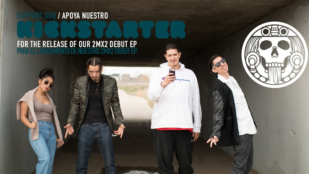 Help 2MX2 release their debut EP Latin Record