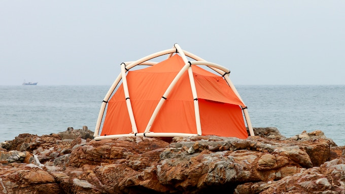 TentTube, Revolutionary Inflatable Tent