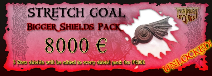 Three new shields added to the shields pack, for a total of 11 shields per pack!
