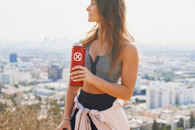 Hydrade | Solar-Powered Double Wall Smart Bottle by origigy.com origigy backers today kickstarter indiegogo