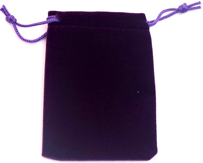Free Velveteen Pouch For Your Cards!