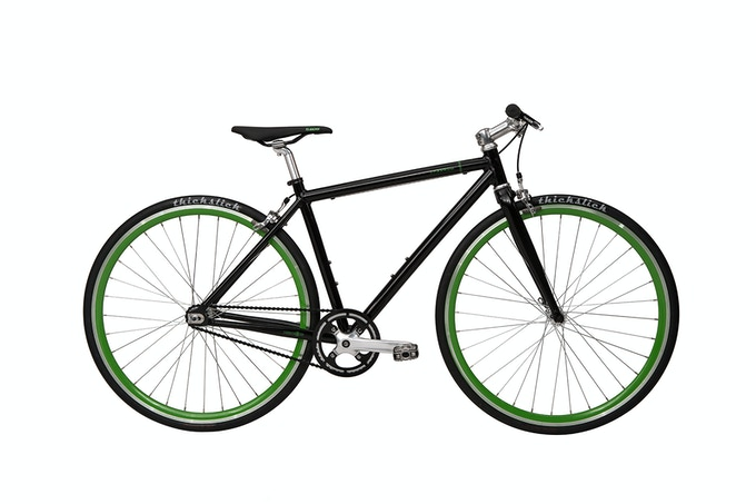black and green profile