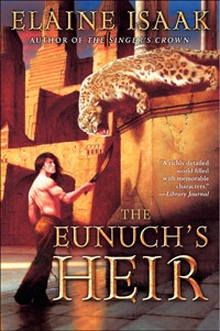 original cover of The Eunuch's Heir, with cover art by Aaron Campbell