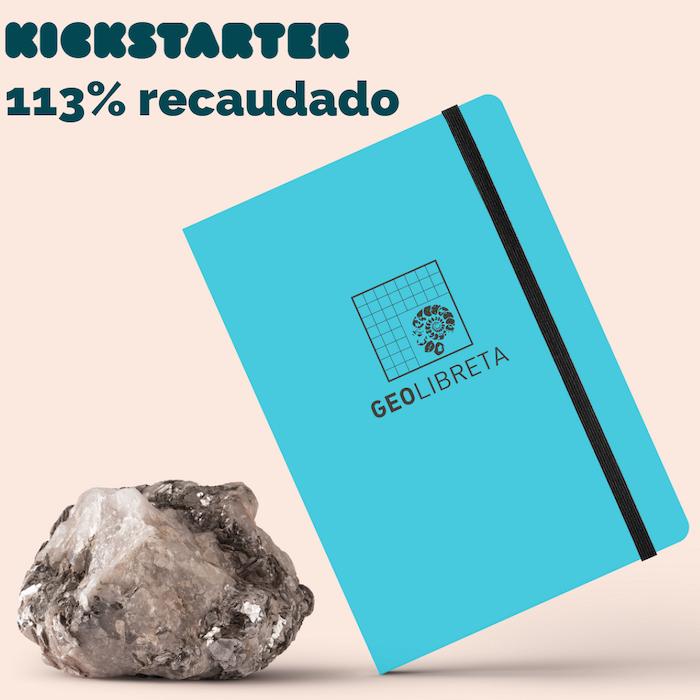 La GeoLibreta es una libreta de campo para geólogos/as. Creada con papel piedra resistente al agua y material de consulta.