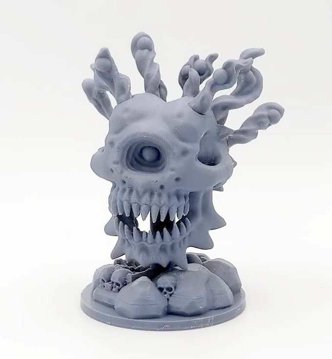 Miniature printed on a $200 Creality 'Ender 3'