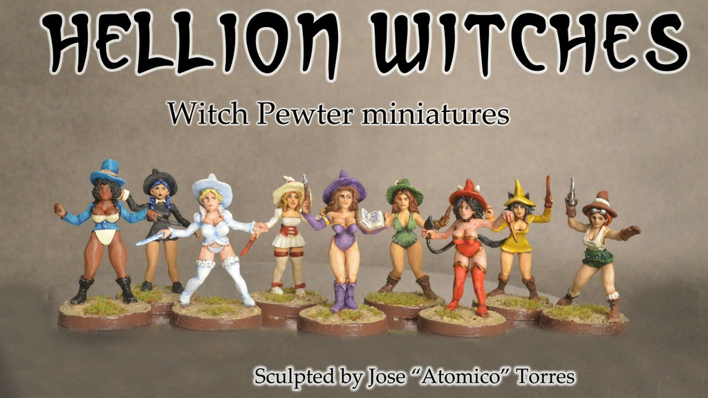 Hellion Witches project video thumbnail