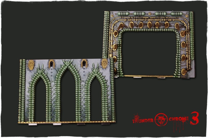 Long walls (9cmX12cm)