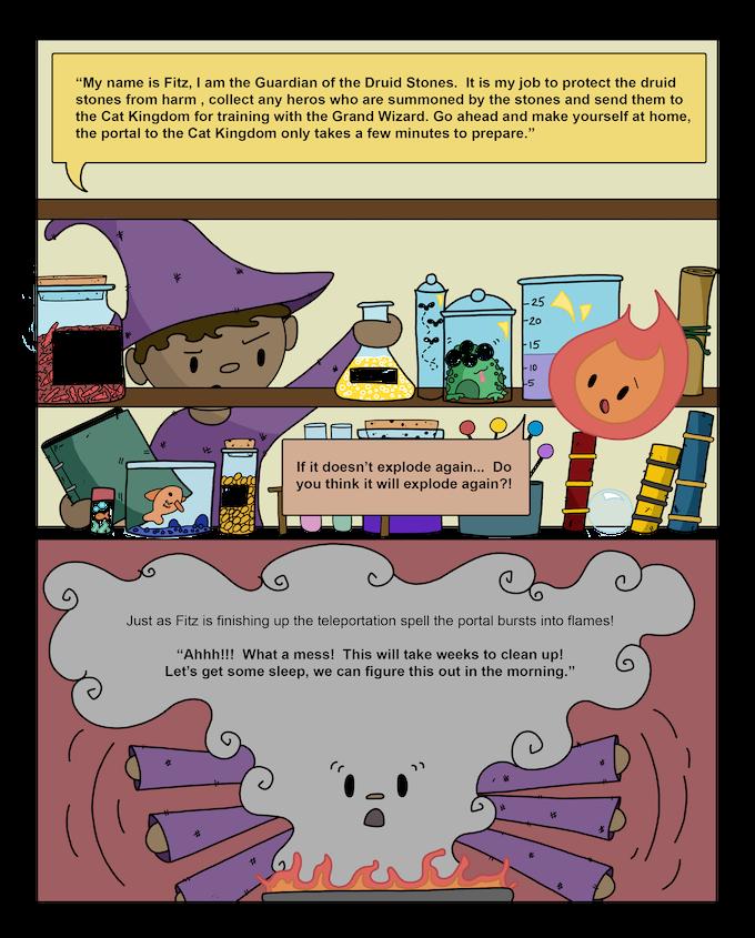 Castles & Cats by Christine Pruett — Kickstarter