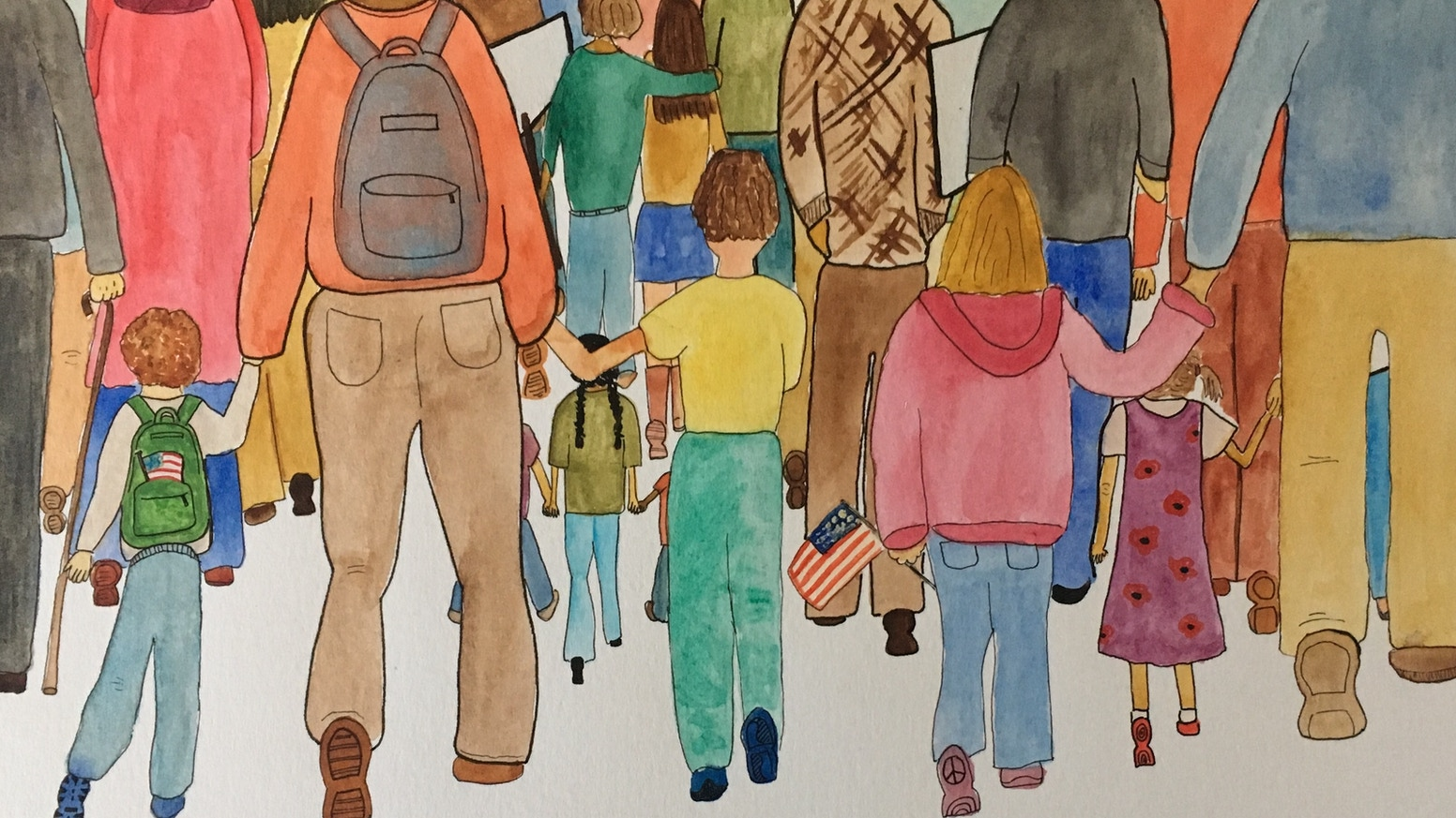 A children's picture book that celebrates the joy & power of civic action