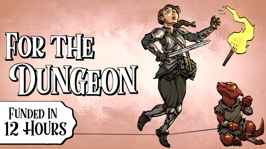 Play the minions, not the heroes. A tabletop RPG about the misfortunes of a career in dungeon security.