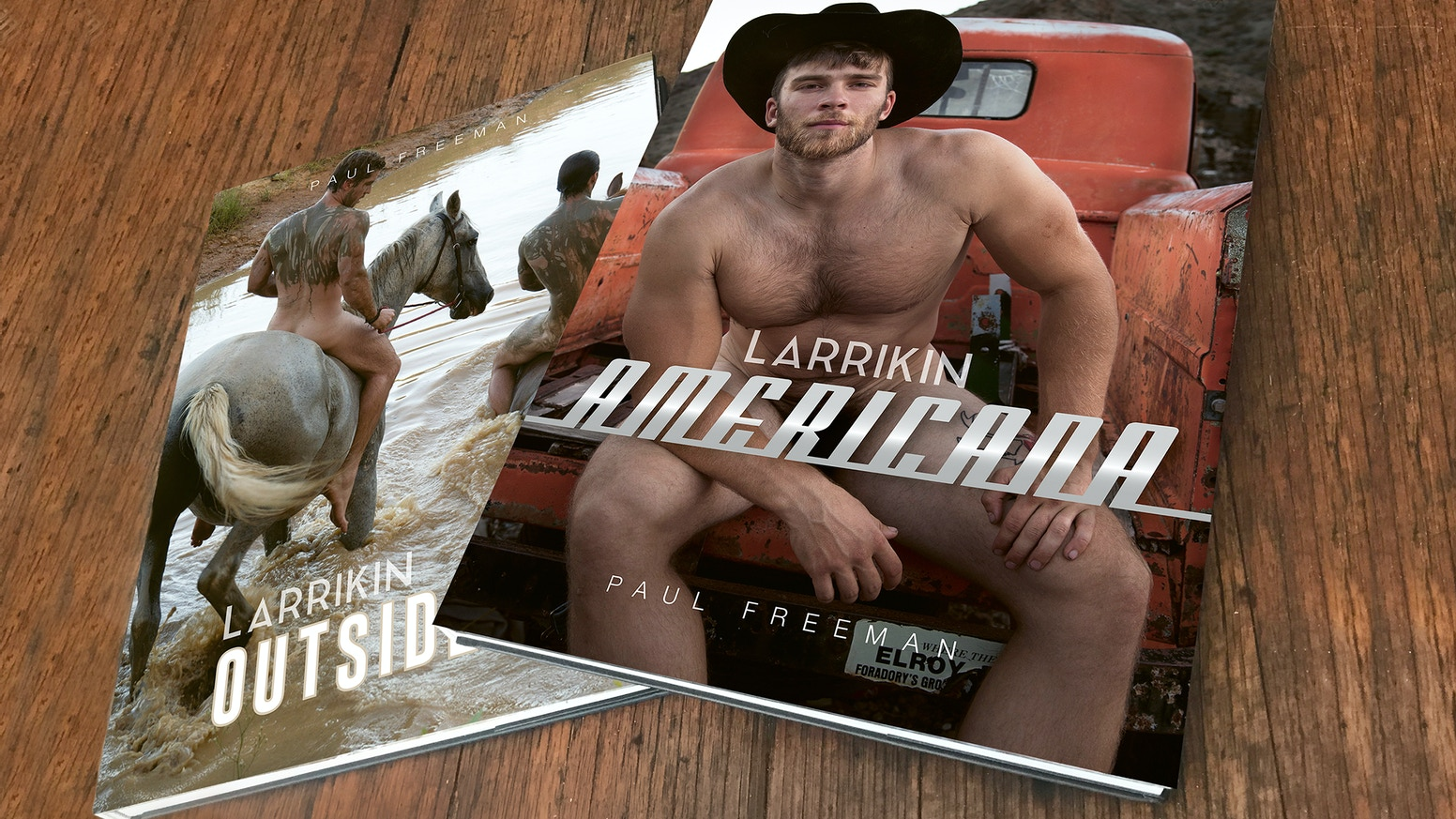 I'm Publishing And Distributing Two New Coffee Table Books Of Male Nudes And Portraits.