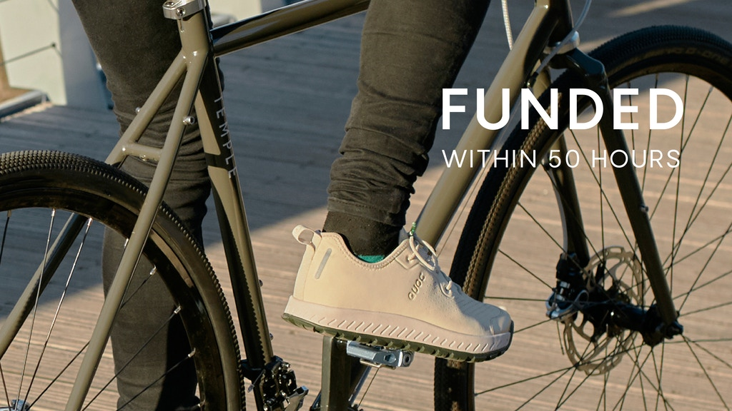 Weekend - World's First Eco Performance Cycling Sneaker project video thumbnail
