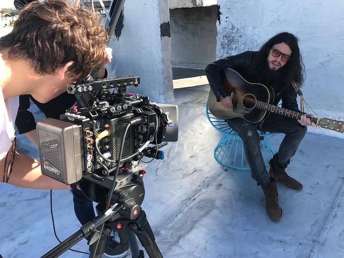 Double Josh — Makela (the cinematographer) & Halverson (the musician)