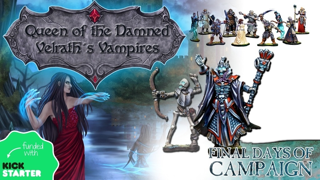Queen of the Damned: Velrath's Vampires project video thumbnail