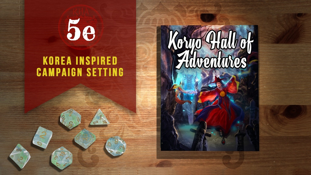 The Koryo Hall of Adventures 5e Compatible Campaign Setting project video thumbnail