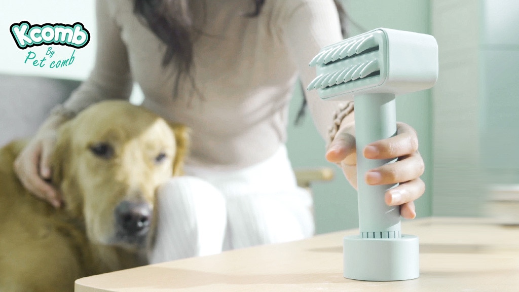 Kcomb: World First Electric Pet Brush To Avoid Skin Disease project video thumbnail
