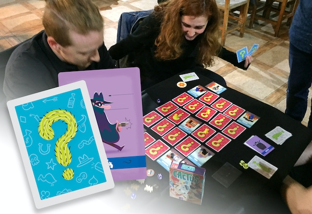 Playtesting at local gaming event