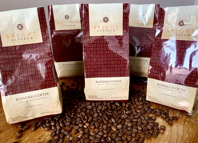 Bright Citizen Saffron-Infused Coffee