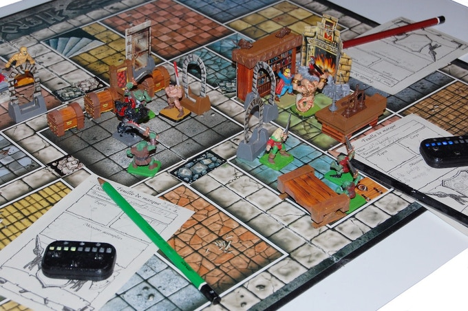 Heroquest game with iziCOUNT