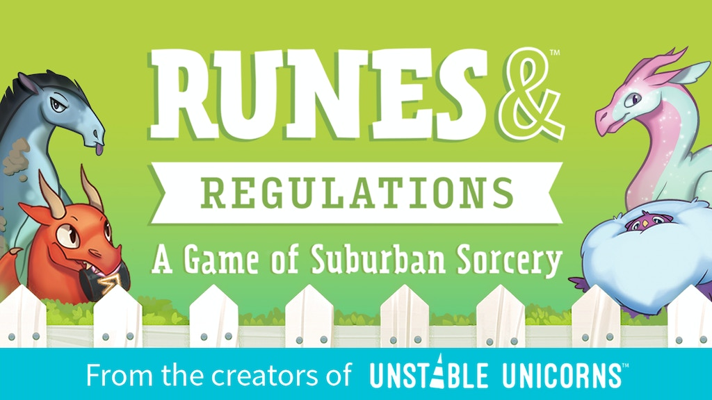 Runes & Regulations: A Game of Suburban Sorcery project video thumbnail