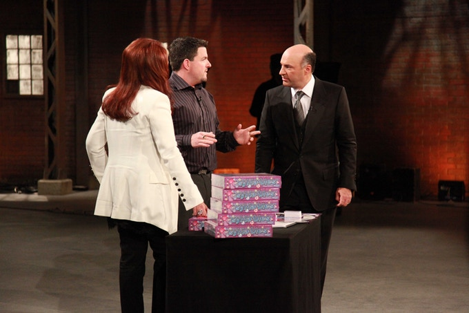 First board game deal on the hit TV show Dragon's Den back in December 2010.