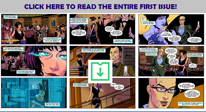 Click Here to get the full first issue in Colour