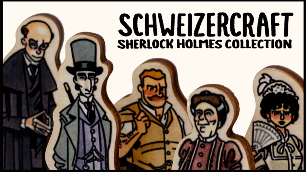SchweizerCraft: Sherlock Holmes Collection project video thumbnail