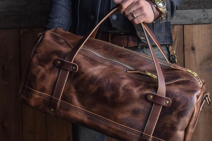 The All Leather Weekender