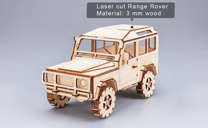 Cut with 2500 mW Laser head