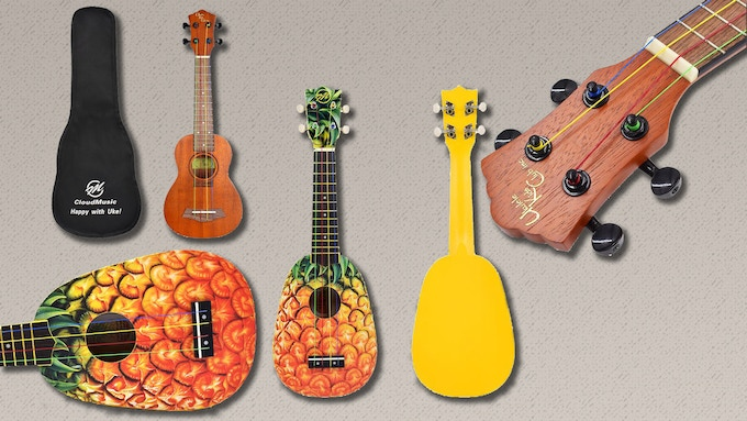 Mahogany & Pineapple Soprano UKC Ukuleles (Made by CLOUDMUSIC, Autographed if you desire!)