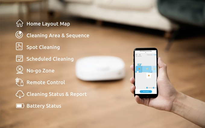 Narwal: World's First Self-Cleaning Robot Mop & Vacuum by