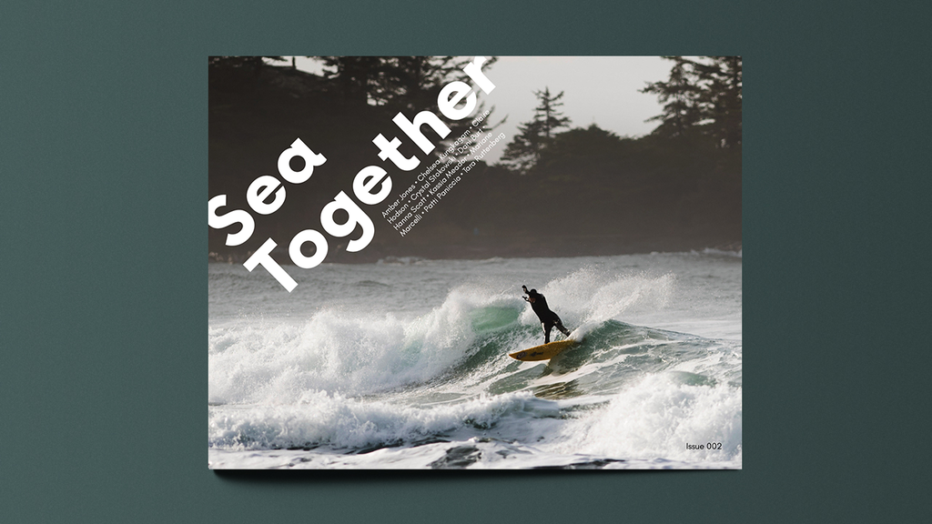 Sea Together Magazine: ISSUE 002 uniting women's surfing project video thumbnail
