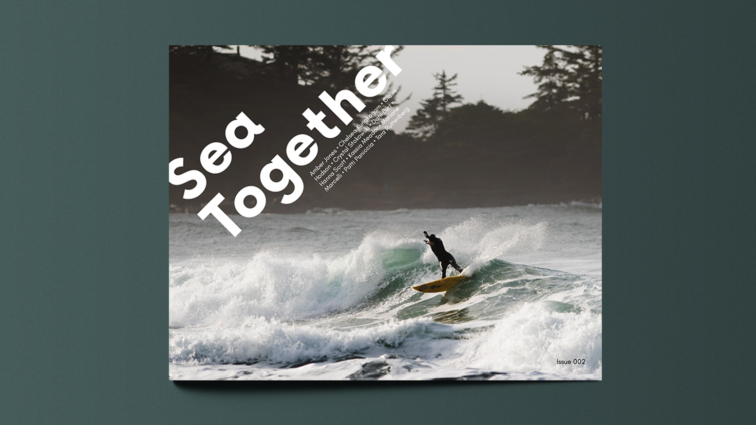 An independent publication uniting & rewriting Women's Surfing globally through writing, art, and community. ISSUE 002!
