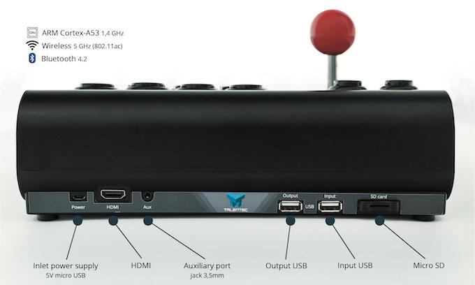 RasPi arcade stick | The customizable smart arcade stick by