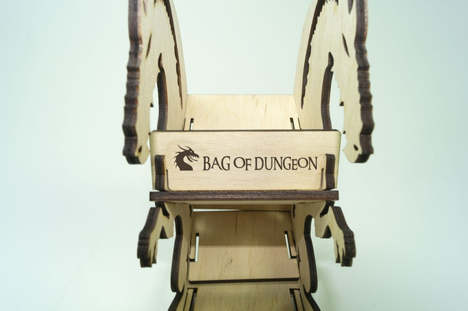 Branded with the BOD dragon logo, the tower is easy to build, needs no glue and folds flat for easy travel