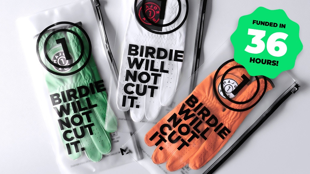 Major Ace   The last golf glove you'll ever want. project video thumbnail