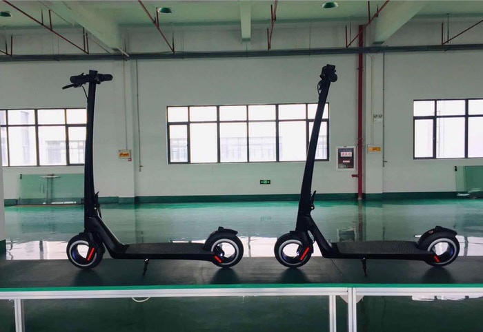 AKTIVO Scoot   World's first hubless electric scooter  by