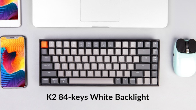 Keychron K2 - A Sleek, Compact Wireless Mechanical Keyboard