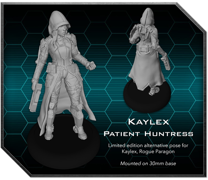 Kaylex's limited edition pose was very popular during Breachstorm's first pre-order, so we've brought it back for the reload!