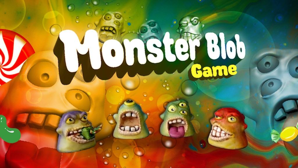 Project image for Monster Blobs game - Le jeu des Monster Blobs (Canceled)