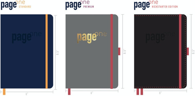 Page One: Standard, Premium & Kickstarter Edition