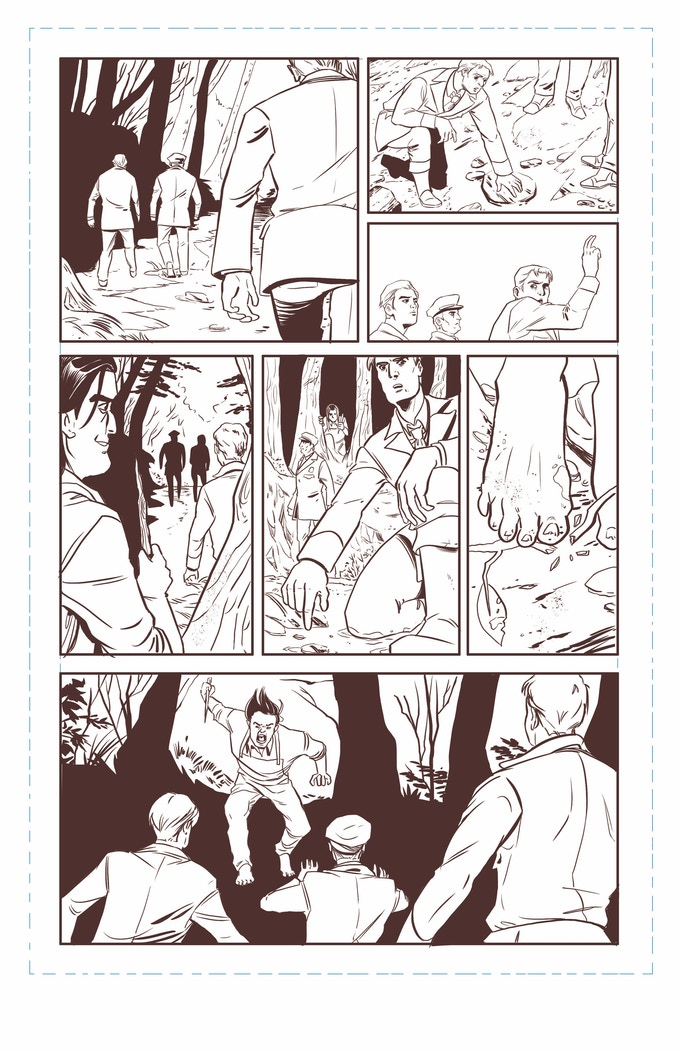 Things get pretty real in Issue 3, jus' sayin'