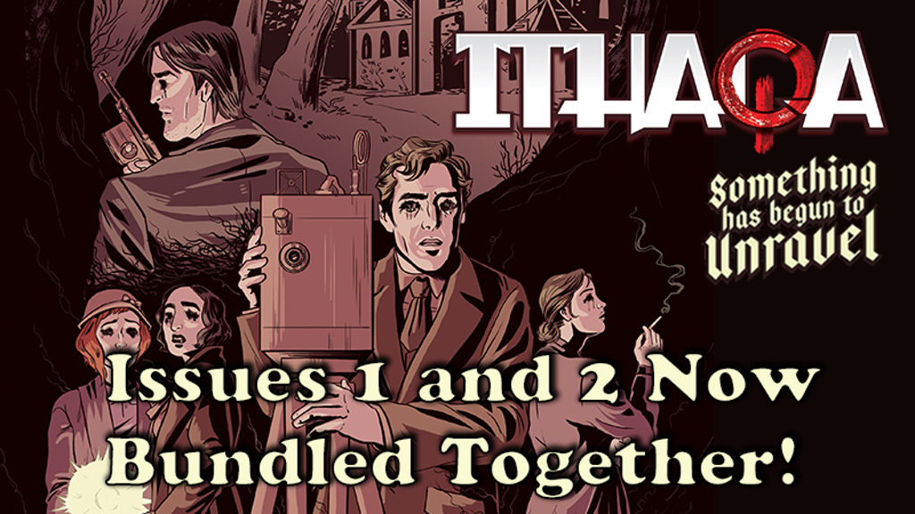 """Ithaqa"" Horror Comic - Issue #1 project video thumbnail"