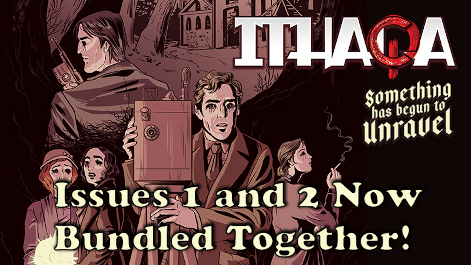 """Ithaqa"" is a Lovecraftian horror story, set during the roaring 20's, in Ithaca, New York."