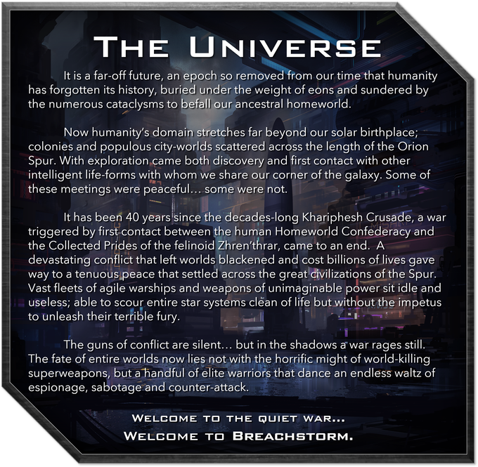 Click this image to visit the Breachstorm universe wiki