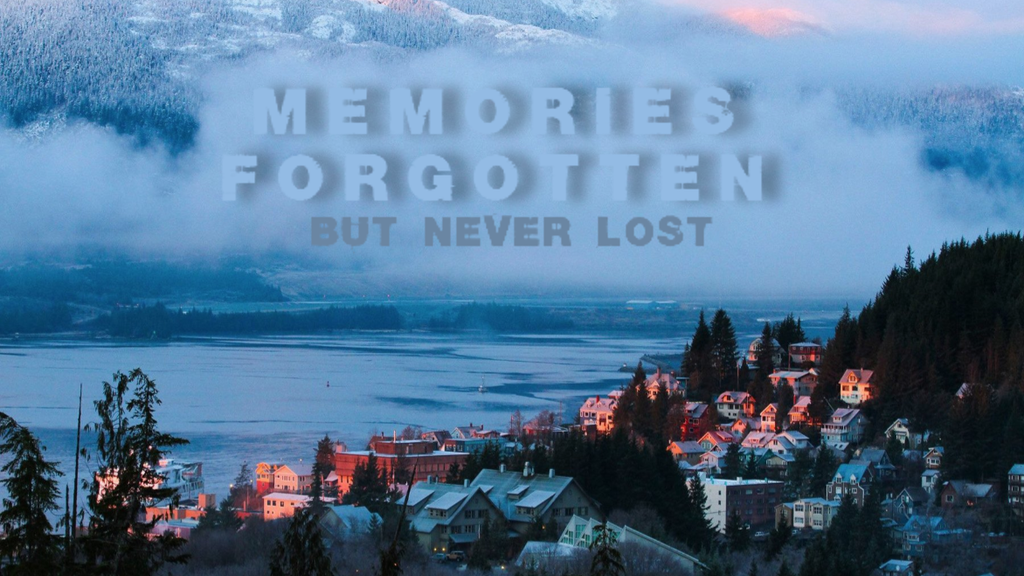 Project image for Memories Forgotten but not Lost