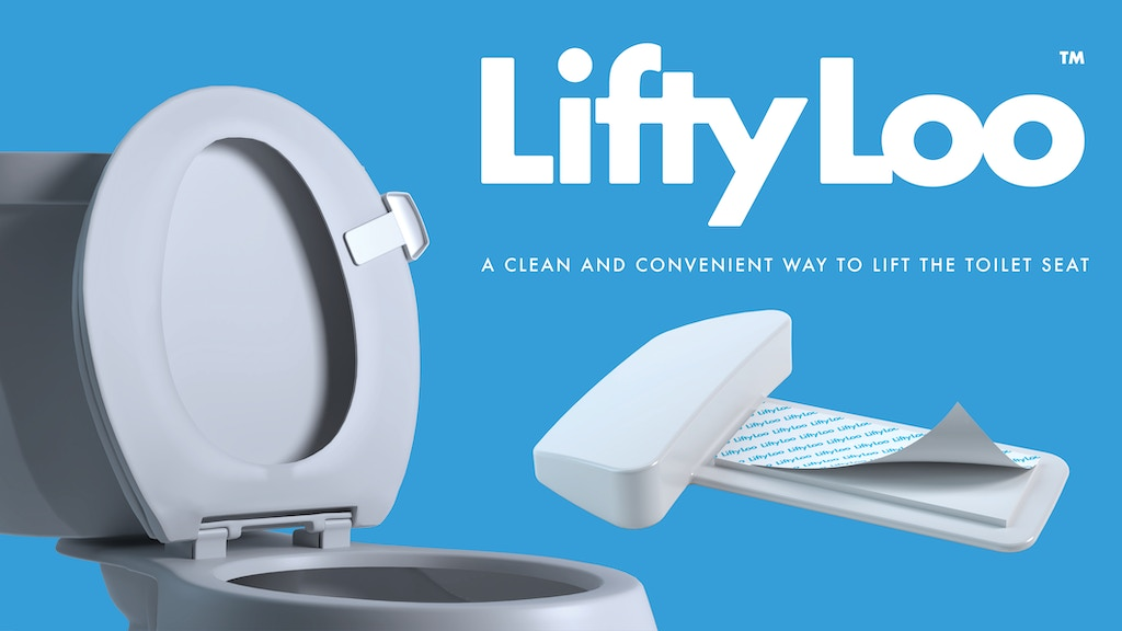 Lifty Loo™ - A Better Way To Lift And Lower The Toilet Seat project video thumbnail