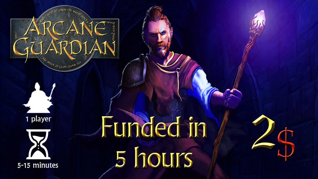 Arcane Guardian: Dungeon Crawler Solo Print and Play project video thumbnail